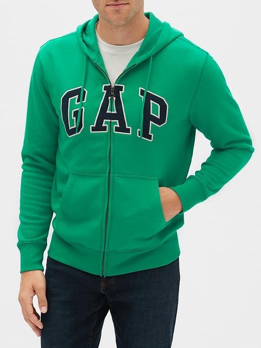 Gap Logo Zip Hoodie