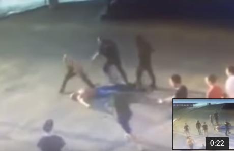 Убийство пауэрлифтера в Хабаровске было заснято несколькими камерами (Видео)