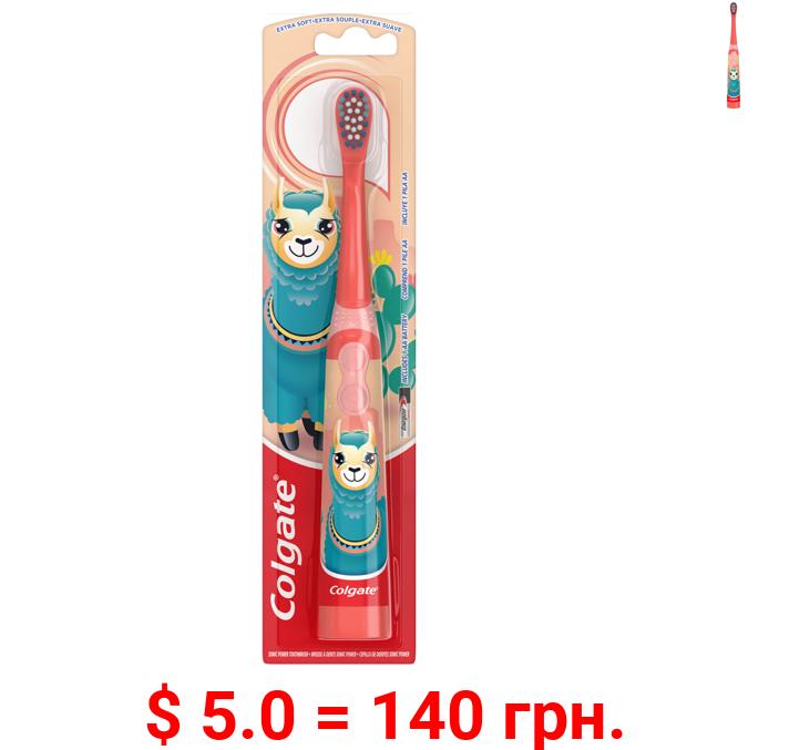 Colgate Kids Llama Sonic Powered Battery Toothbrush