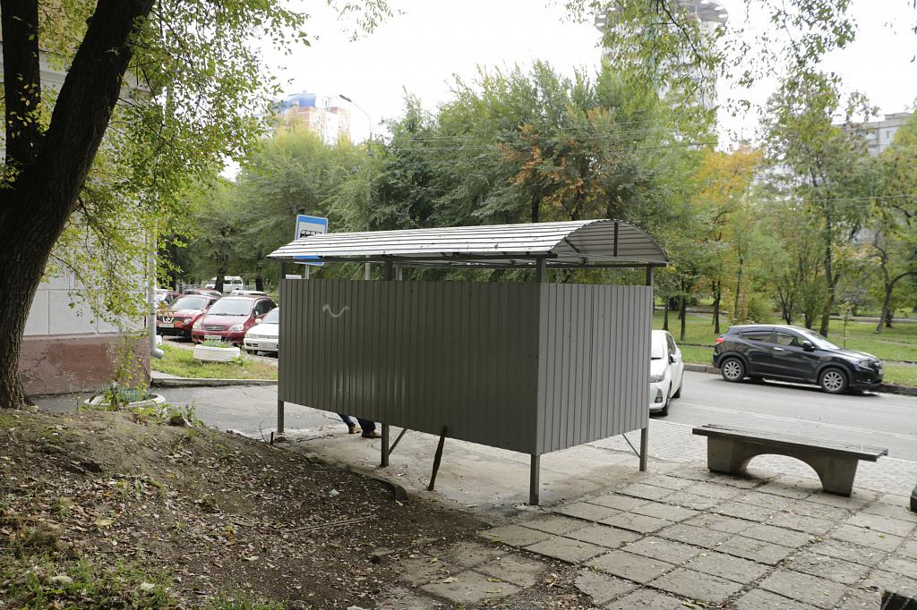 В Хабаровске установят 76 новых остановок (список)