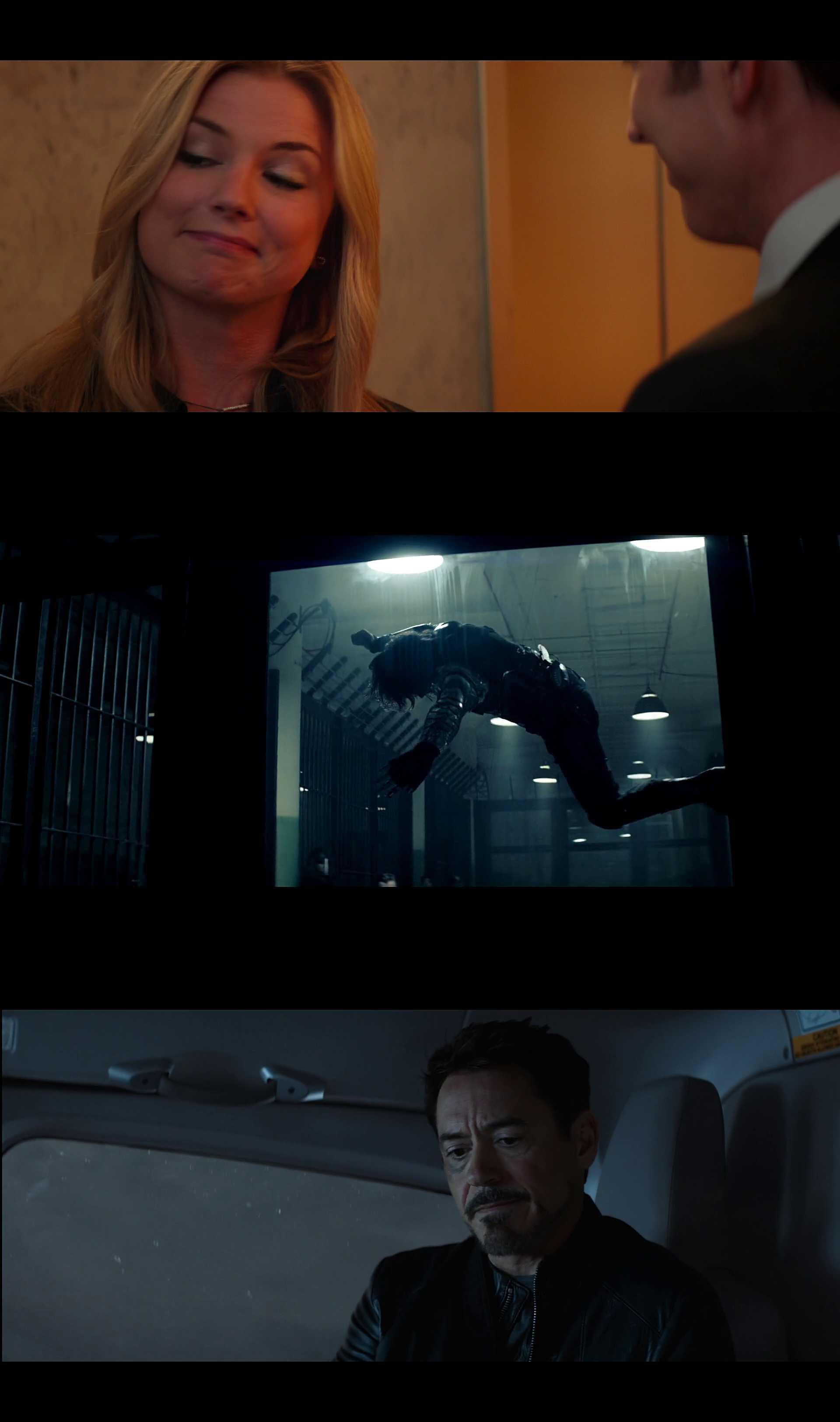 Screenshot of Captain America: Civil War Movie
