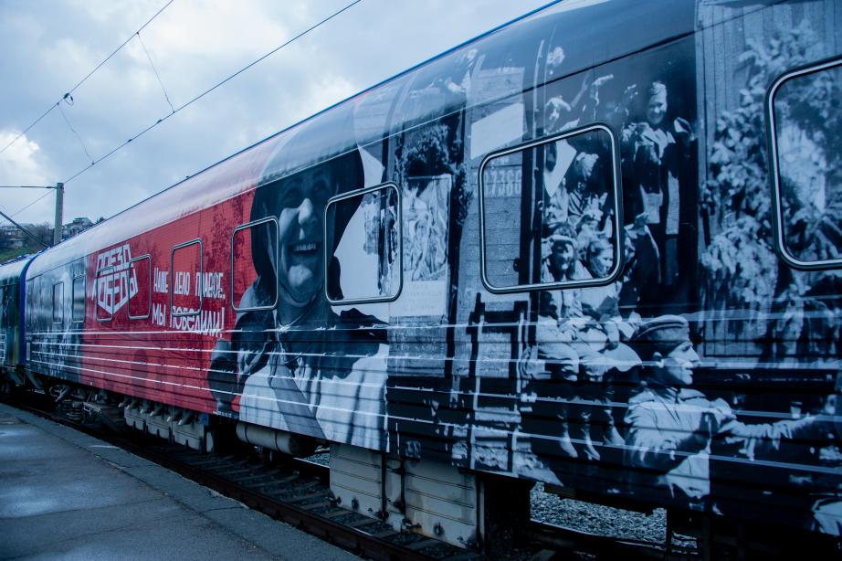 Передвижной музей «Поезд Победы» прибудет в Хабаровск 7 сентября