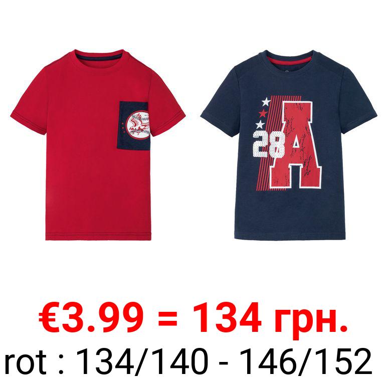 PEPPERTS® Kinder T-Shirt Jungen, mit Motiv