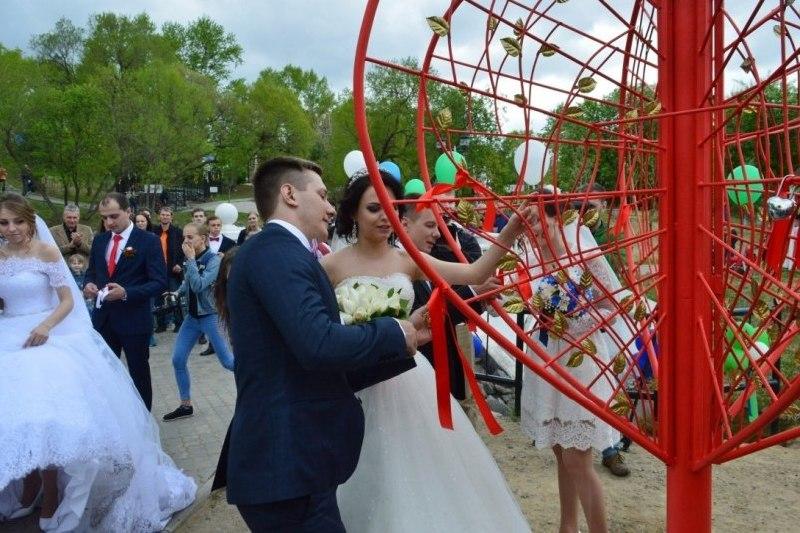 День всех влюбленных в Хабаровске