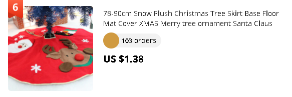 78-90cm Snow Plush Christmas Tree Skirt Base Floor Mat Cover XMAS Merry tree ornament Santa Claus deer felt Christmas tree home