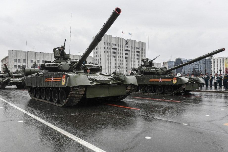 Парад в честь 76-й годовщины Победы состоялся в Хабаровске