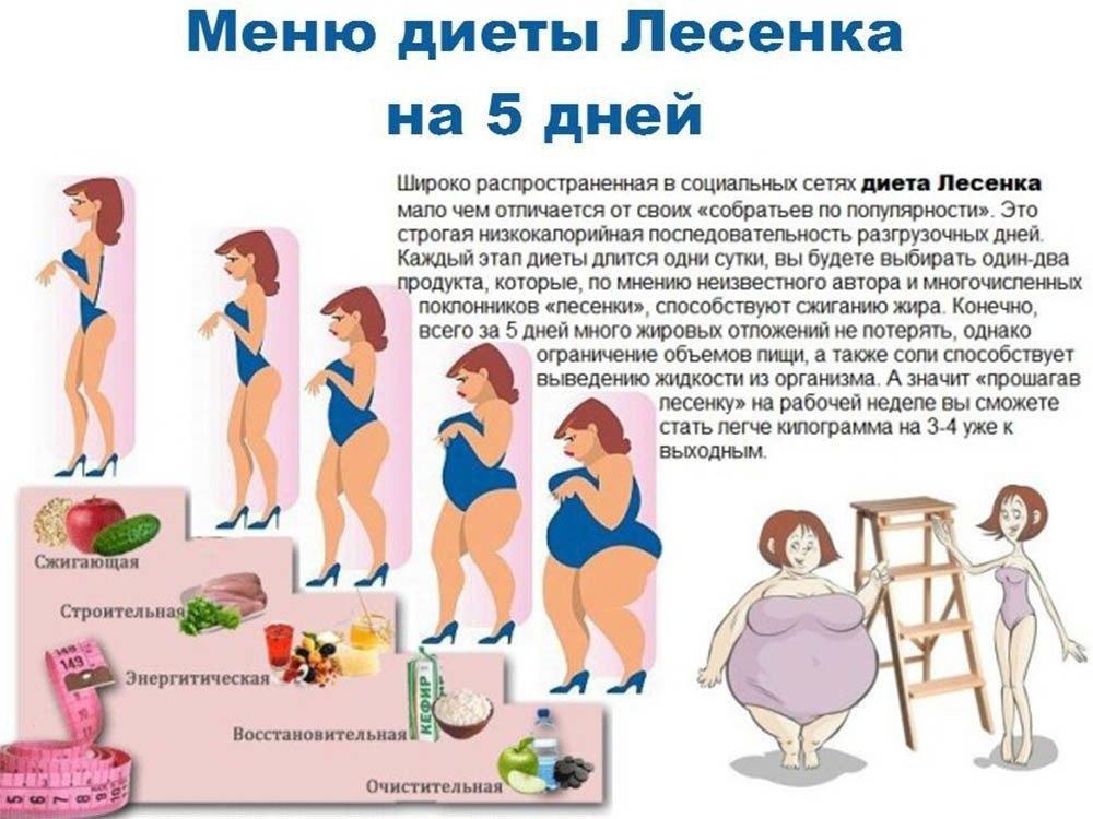 лесенка диета отзывы