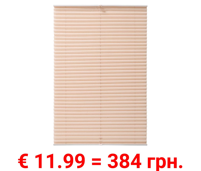 MERADISO® Plissee Rollo für Fenster, 70 x 130 cm