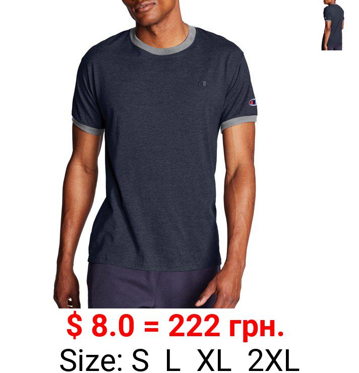 Champion Men's Classic Jersey Ringer T-Shirt, Sizes S-2LX