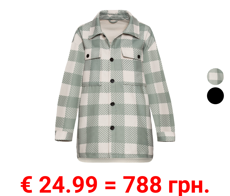 ESMARA® Damen Hemdjacke, im Holzfällerstil