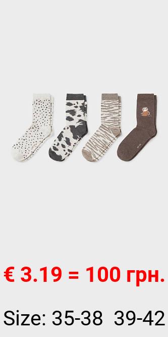 Multipack 4er - Socken - Bio-Baumwolle