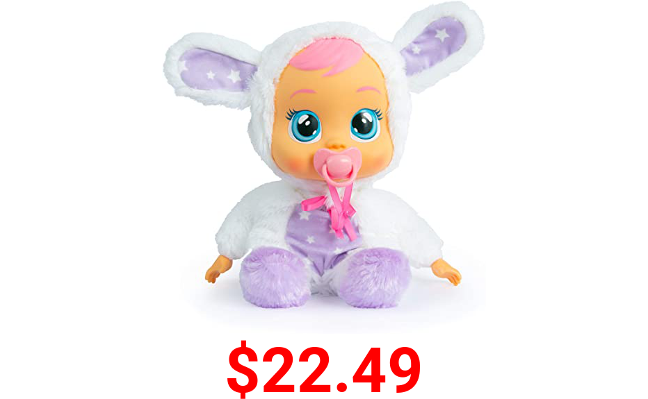 Cry Babies Goodnight Coney - Sleepy Time Baby Doll with LED Lights and Lullabies