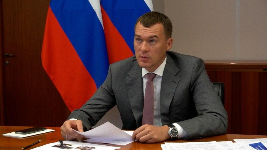 Дегтярев рассказал о ликвидации последствий ЧС в Хабаровском крае