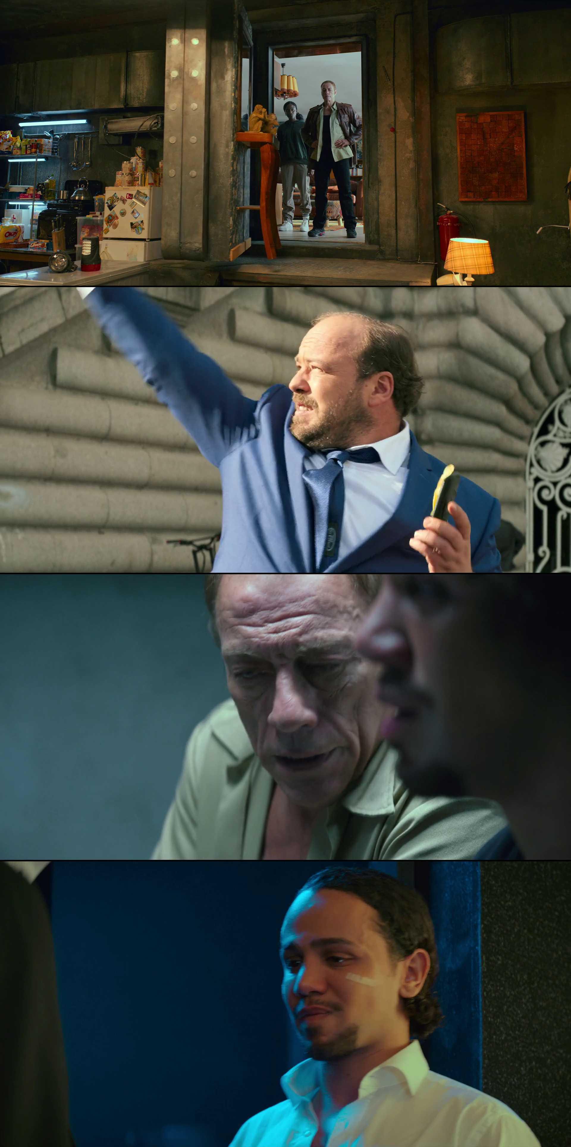 Screenshot of Le dernier mercenaire Movie
