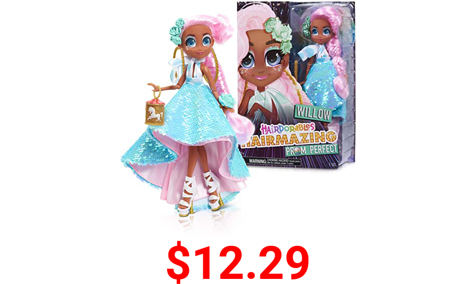Hairdorables Hairmazing Prom Perfect Fashion Dolls, Willow