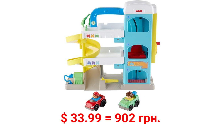 Fisher-Price Little People the Helpful Neighbor's Garage