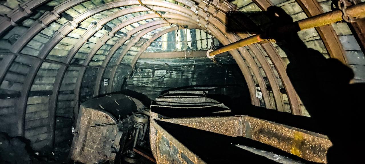 Заброшенная шахта в Ростовской области