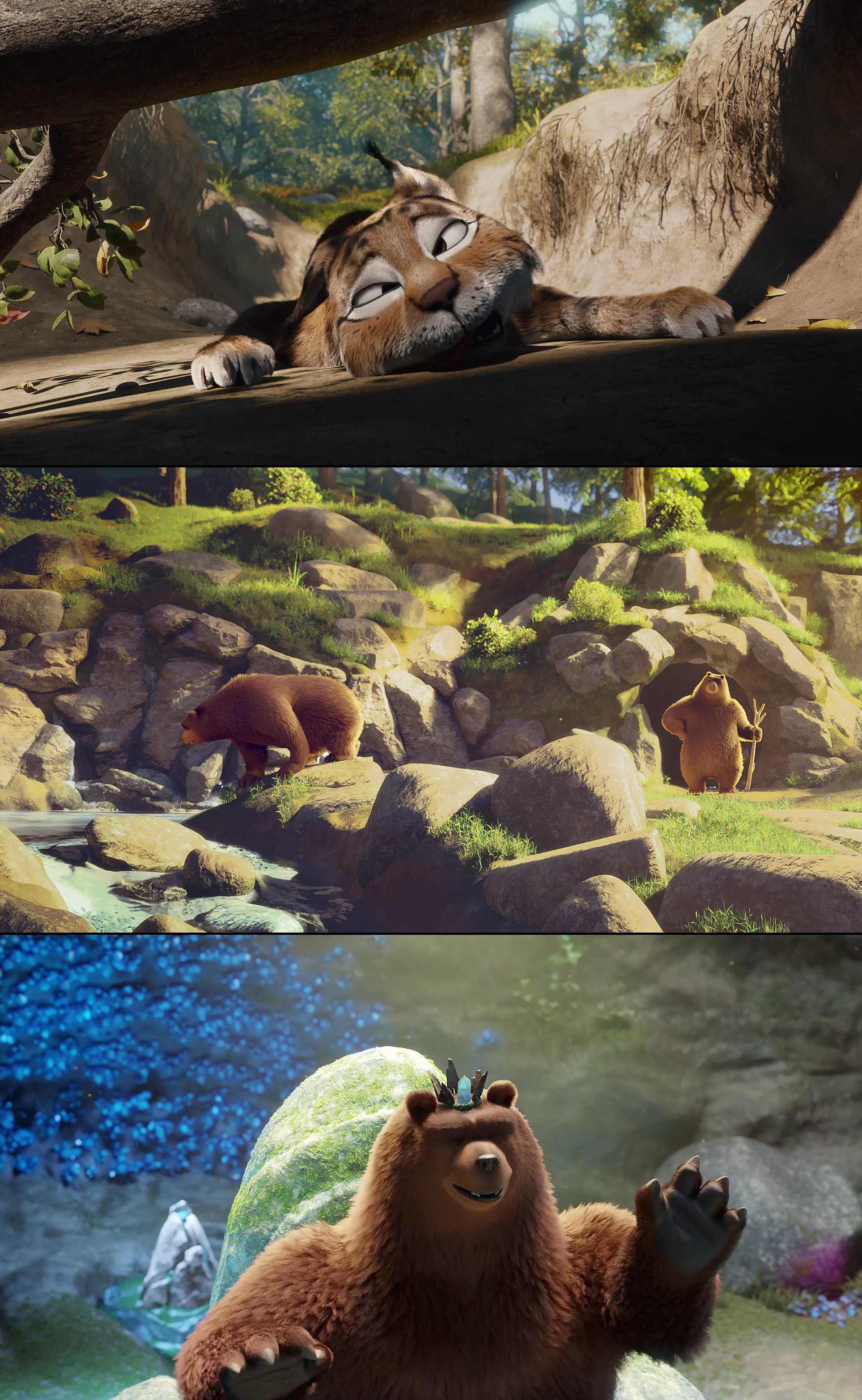 Screenshot of Latte & the Magic Waterstone Movie
