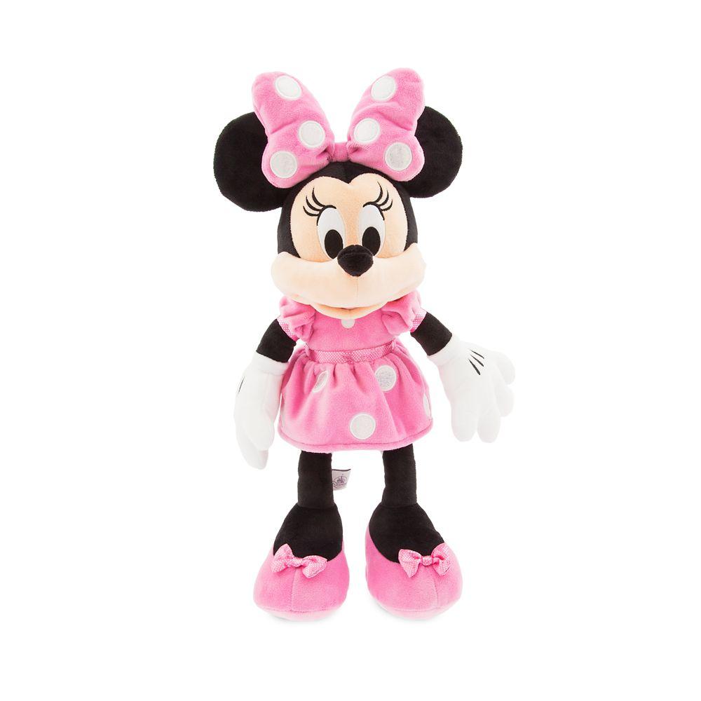 Minnie Mouse Plush - Pink - Medium - 18'' - Personalizable