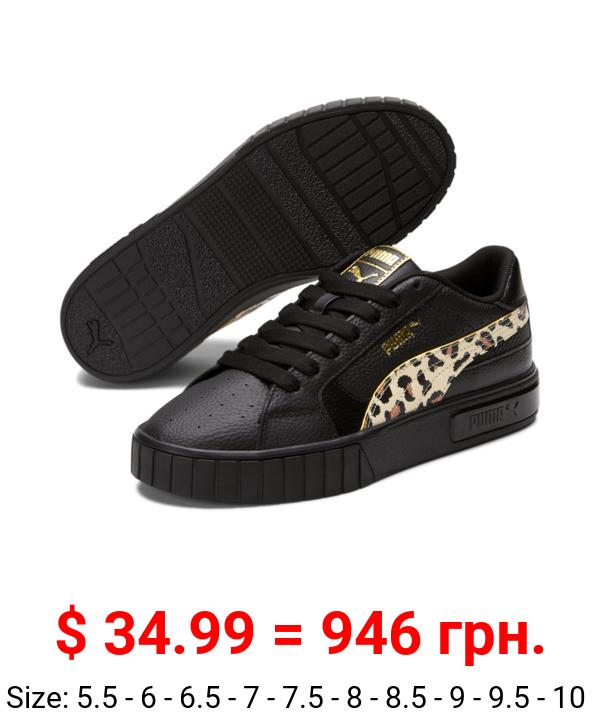 Cali Star Leopard Women's Sneakers
