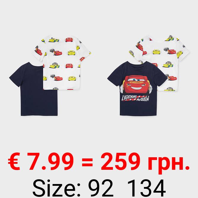 Multipack 2er - Cars - Kurzarmshirt - Bio-Baumwolle