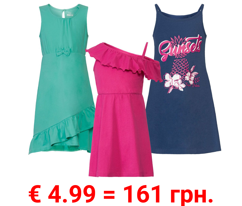 PEPPERTS® Kleid Mädchen, aus Baumwolle