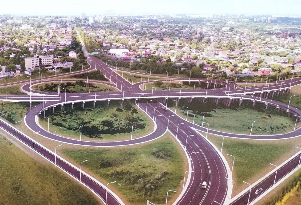 Хабаровск готовится к строительству новой автомобильной развязки