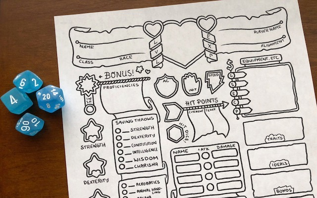 It is an image of Dnd 5e Printable Character Sheet with d&d spell