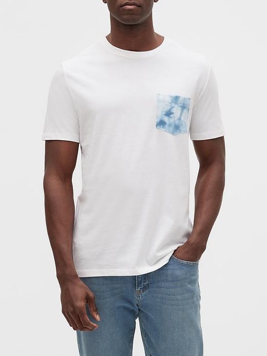 Tie-Dye Pocket T-Shirt