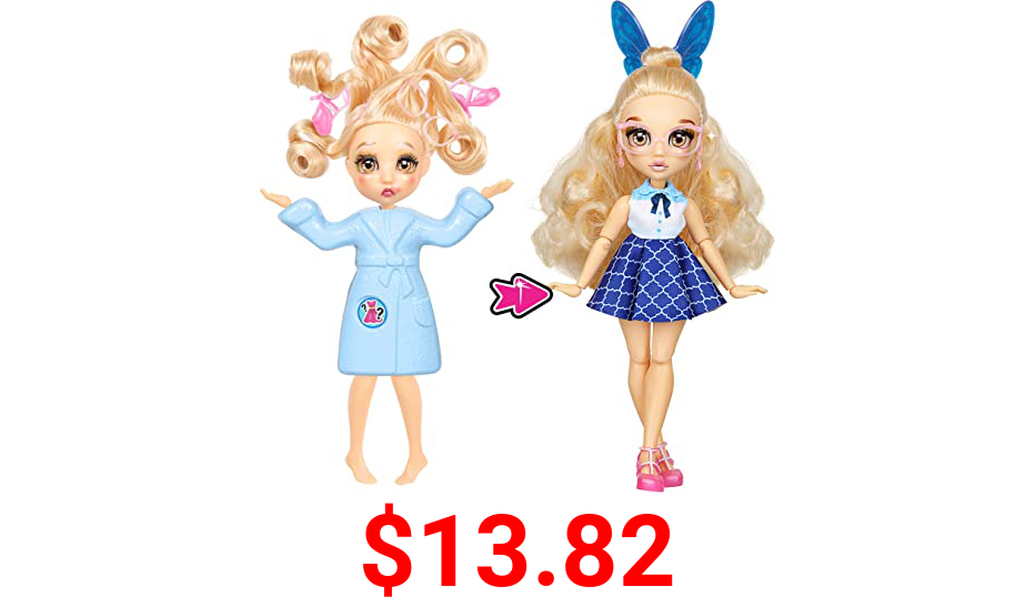 "Failfix - PreppiPosh Total Makeover Doll Pack | 8.5"" inch Fashion Doll | Total Head-to-Toe Transformation"