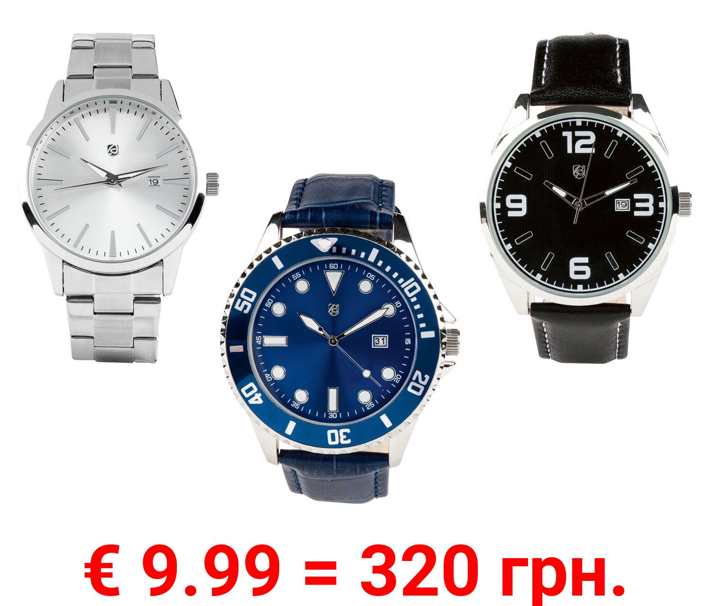 AURIOL® Armbanduhren Herren, mit Metallgehäuse