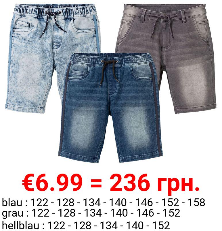 PEPPERTS® Kinder Shorts Jungen, mit Baumwolle