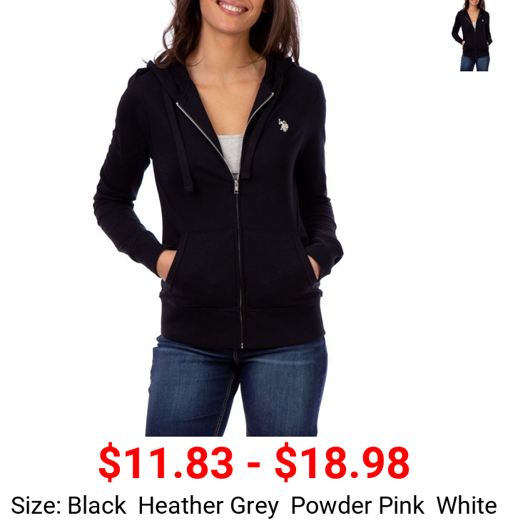 U.S. Polo Assn. French Terry Hooded Zip Up Women's