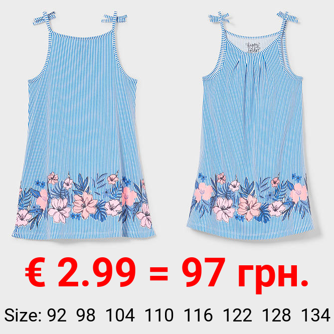 Kleid - Bio-Baumwolle - gestreift