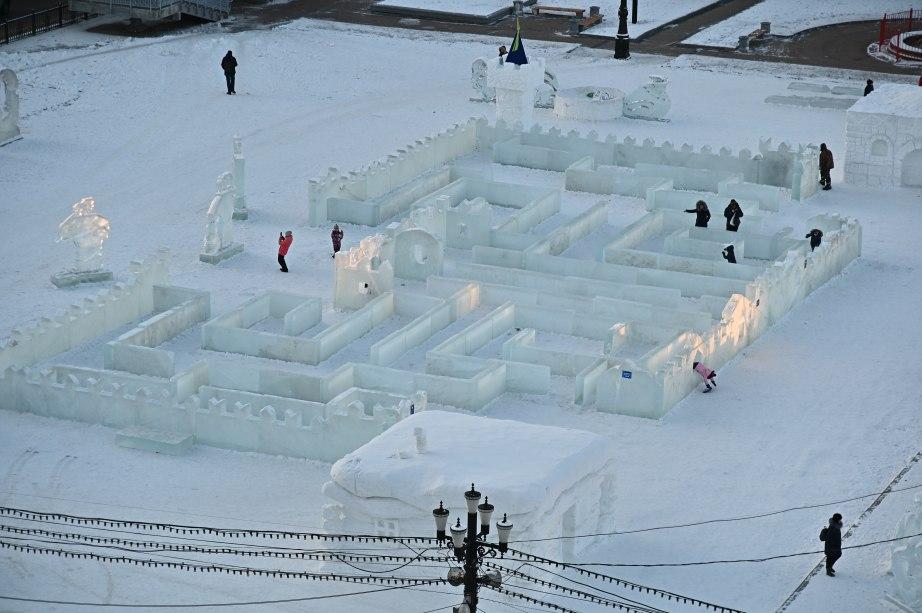 Новогодние городки продолжат работать всю зиму