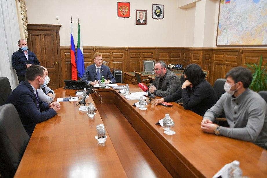 Организацию встречи за Суперкубок России по хоккею с мячом обсудили в правительстве