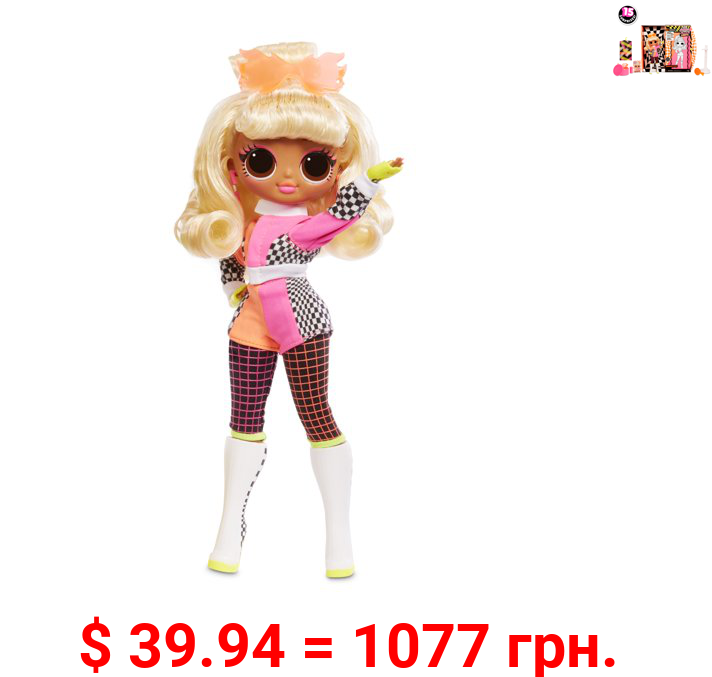 L.O.L. Surprise! O.M.G. Lights Speedster Fashion Doll with 15 Surprises