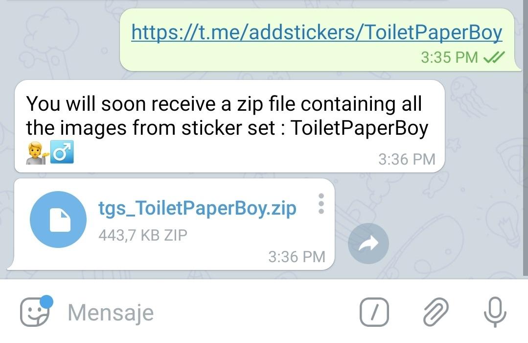 stickers animados Zip toDus
