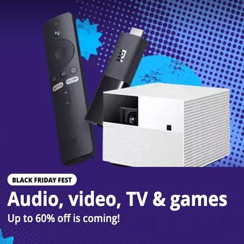 Audio, Video, TV & Games