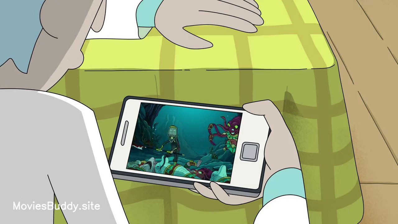 Video Screenshot of Rick and Morty