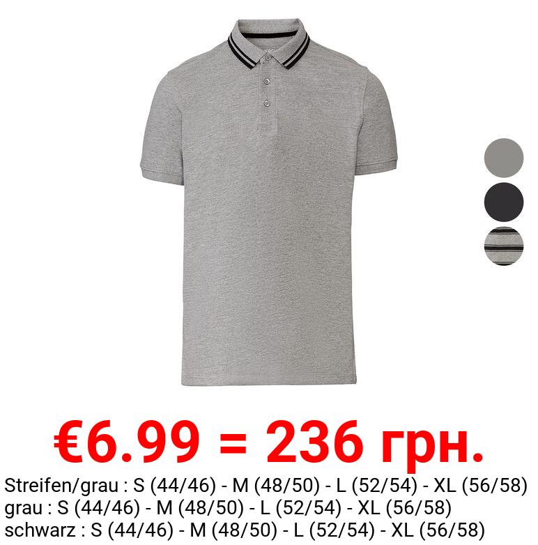 LIVERGY® Poloshirt Herren, Slim Fit