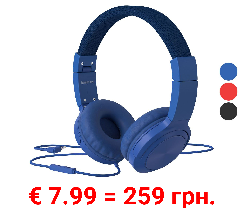 SILVERCREST® Kopfhörer On Ear, zusammenklappbar