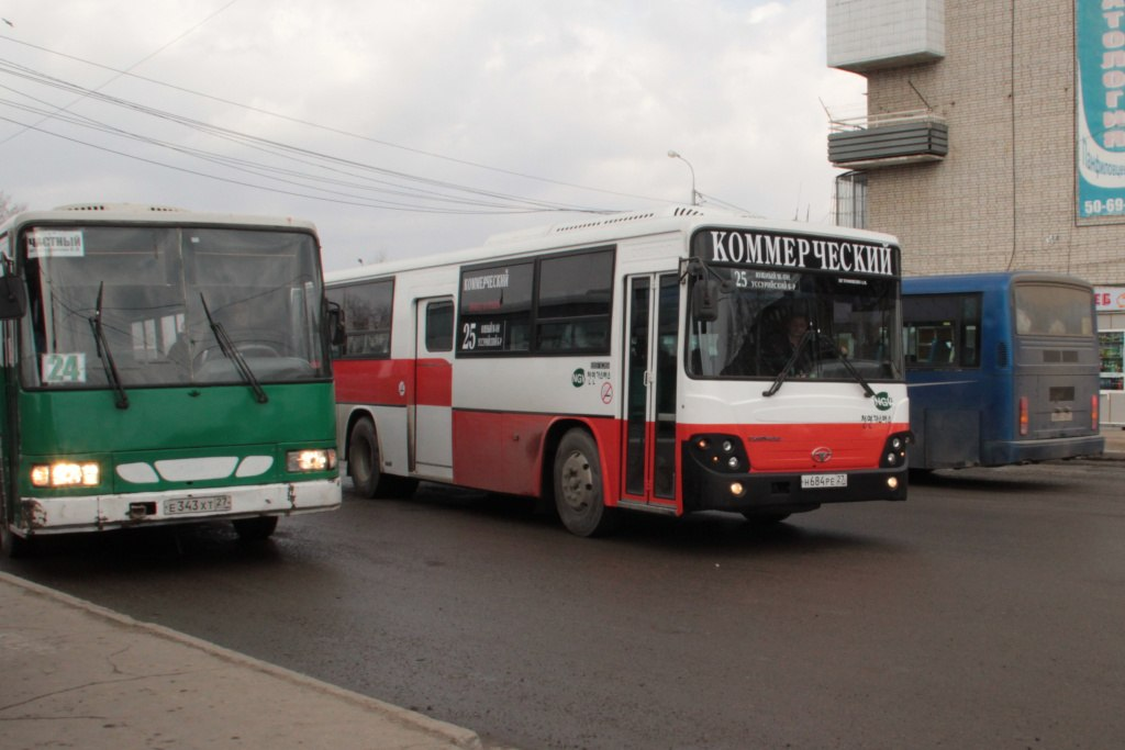 Хабаровчане жалуются на нарушение графиков движения по ряду автобусных маршрутов