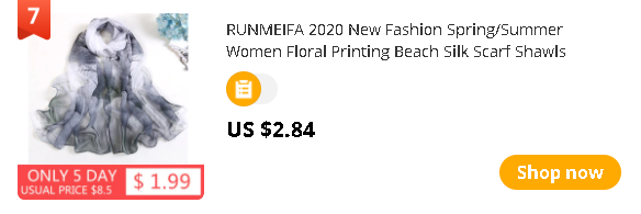 RUNMEIFA 2020 New Fashion Spring/Summer Women Floral Printing Beach Silk Scarf Shawls Female Long Wraps Beach Sunscreen Hijab