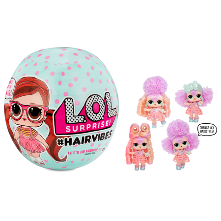 L.O.L. Surprise #Hairvibes Tots Series A