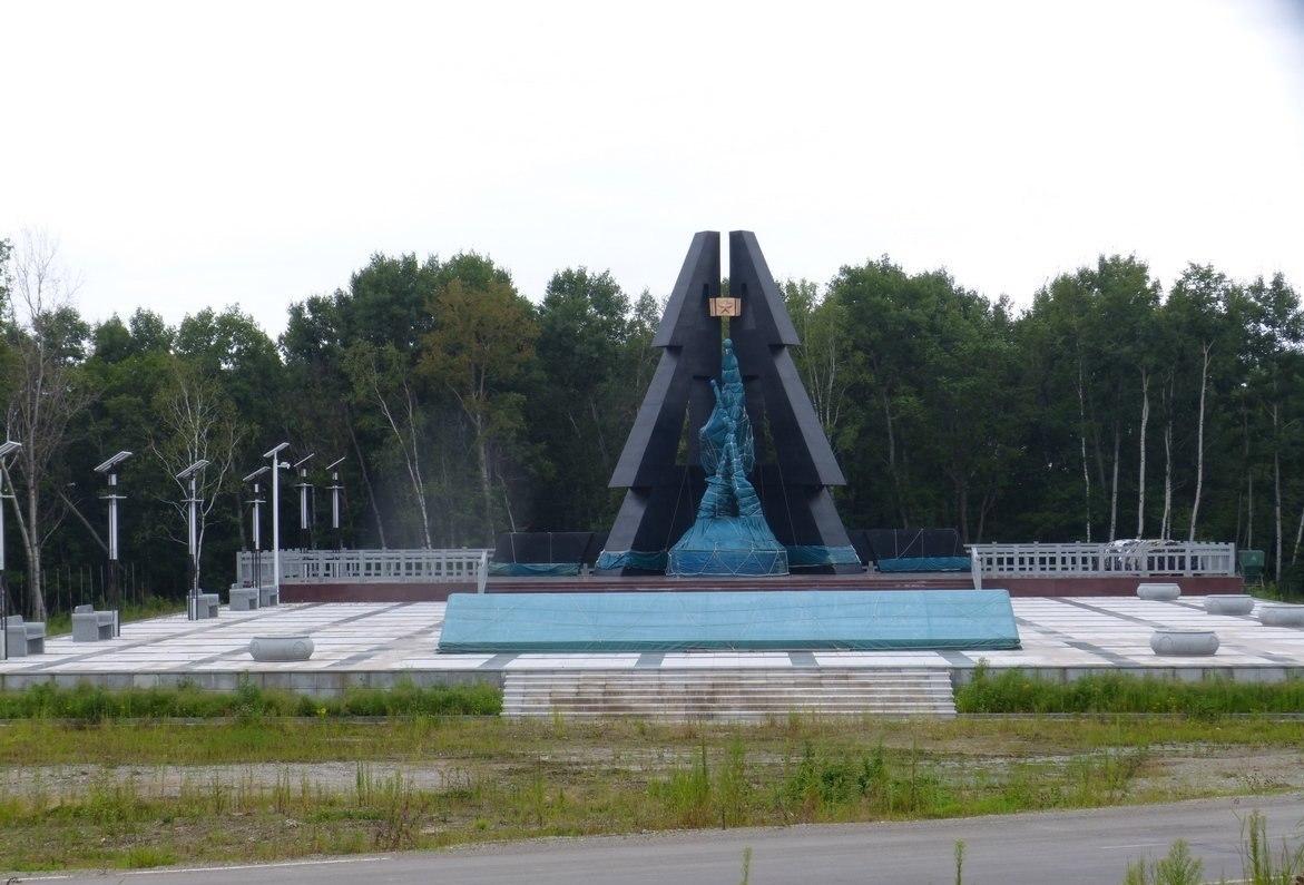Захоронение бойцов 88-й отдельной стрелковой бригады Дальневосточного фронта