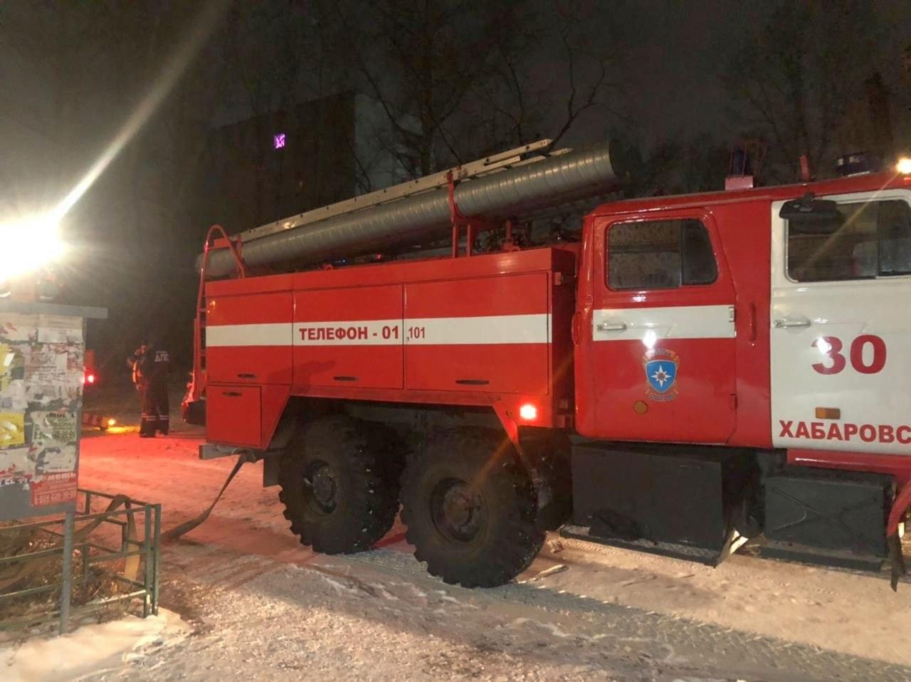 Пять человек погибли в ночном пожаре