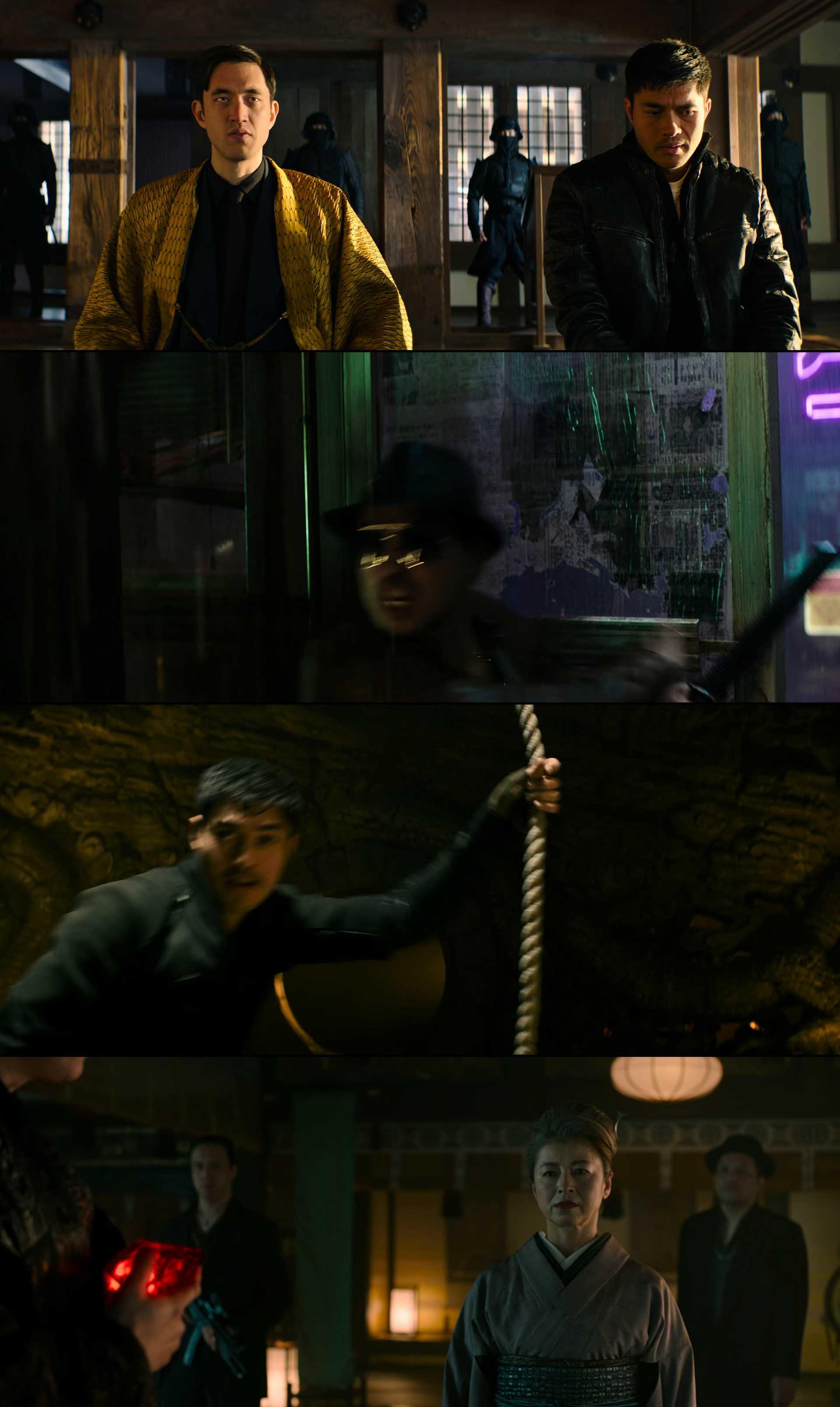 Screenshot of Snake Eyes: G.I. Joe Origins Movie