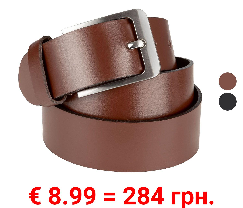LIVERGY® Herren Leder-Gürtel