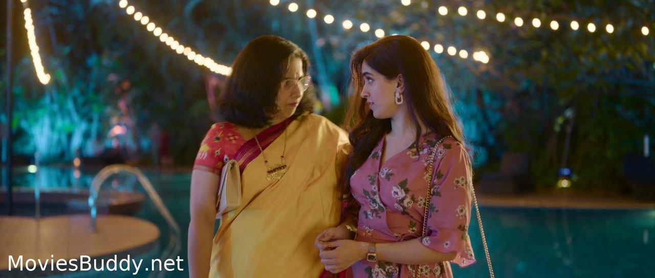 Video Screenshot of Shakuntala Devi